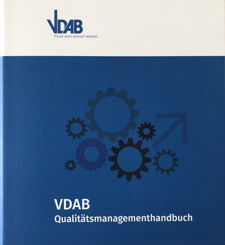 VDAB QM-Handbuch Frontansicht